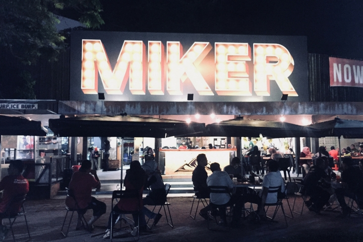 Miker Food at Ipoh Padang